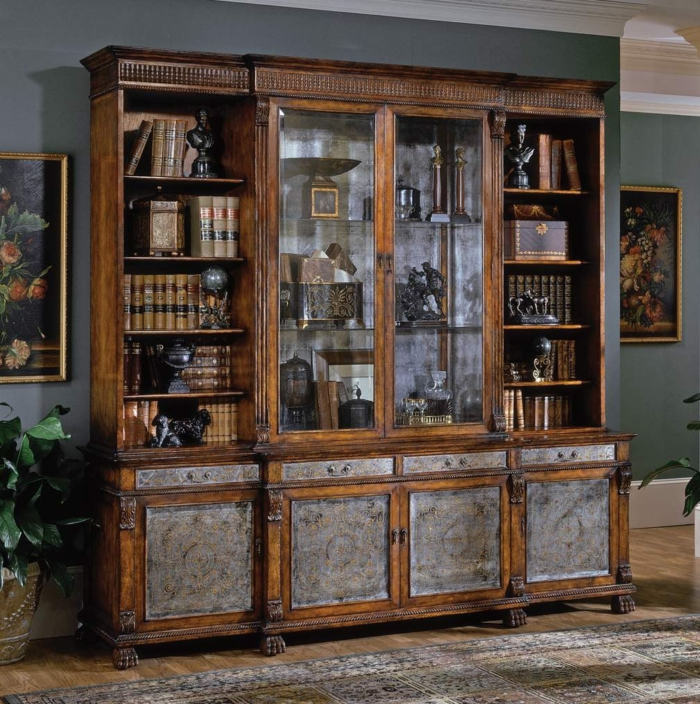 Breakfront china cabinet high end dining rooms home for Dining room cabinets