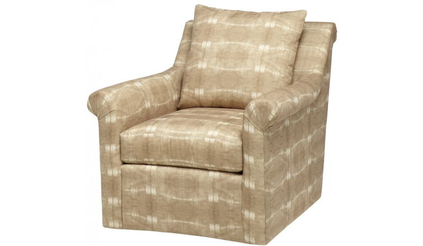 Luxury Leather & Upholstered Furniture Upholstered Club Chair
