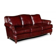 Classic Comfort All Leather Sofa
