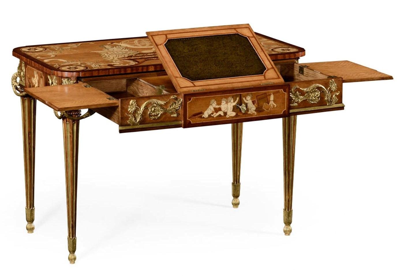 Antique furniture reproductions antique furniture reproductions - Executive Desks Classic Antique Reproduction Furniture Secrtaire Cabinet