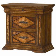 Classic furniture, nightstand. Spanish heritage furniture.