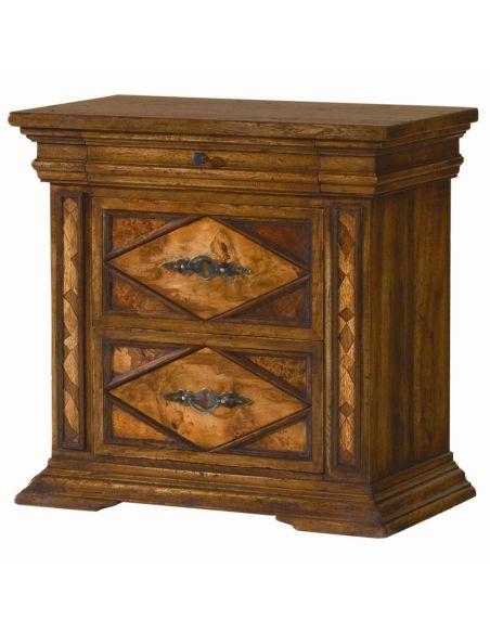 LUXURY BEDROOM FURNITURE Classic furniture, nightstand. Spanish heritage furniture.