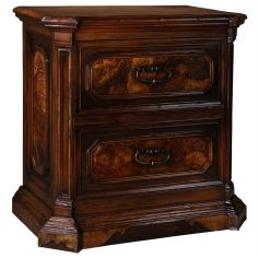 LUXURY BEDROOM FURNITURE Classic furniture, nightstand. Spanish heritage luxury bedroom furniture.