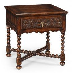 Classic furniture oak side table English heritage furniture