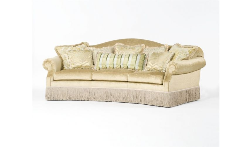 SOFA, COUCH & LOVESEAT Classy sassy luxury sofa curved couch