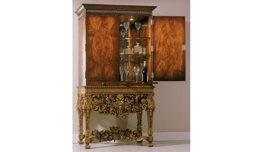 Upscale Bar Furniture Cocktail cabinet, High end luxury furniture.