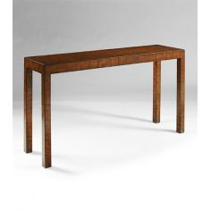 Console-table-with-leather