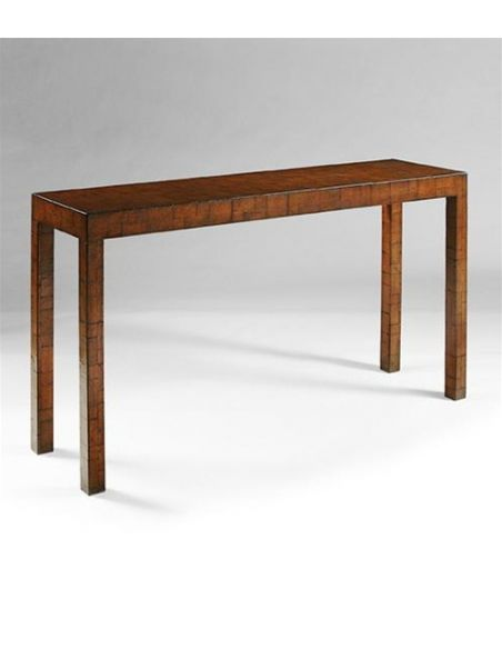 Console & Sofa Tables Console-table-with-leather