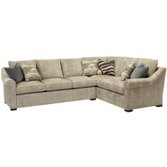 Contemporary style sectional. High end furnishings. 6556