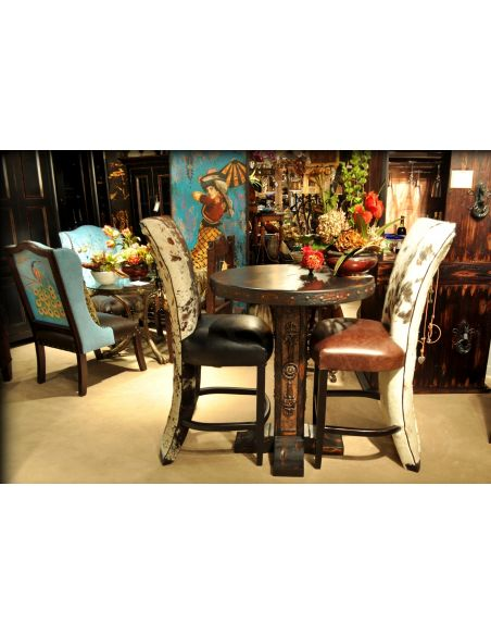 Dining Chairs Corset bar stool, bistro chair, bistro table