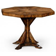 Country living, Country rustic octagonal side or small dining table