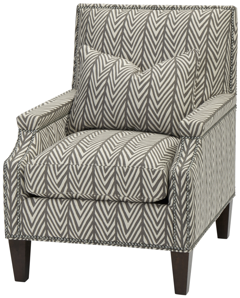Designer arm chair with matching pillow cushion for Matching arm chairs