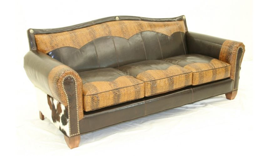 SOFA, COUCH & LOVESEAT Cowboy Perfection furniture sofa western style