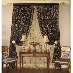 Custom drapes, window treatments bedding and blinds