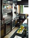 Kitchen Cabinetry Custom pub or home bar. High end cabinetry