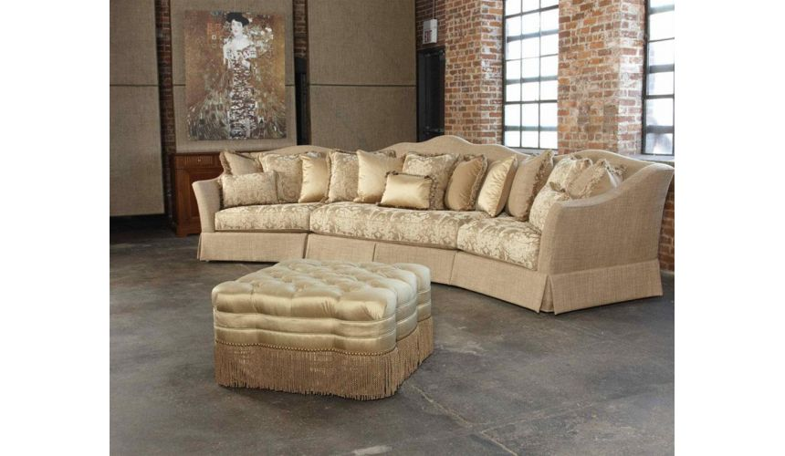SECTIONALS - Leather & High End Upholstered Furniture 845-sofa, chair, leather, fabric, sectional