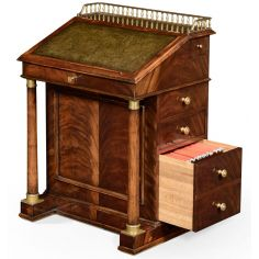 Classic antique reproduction furniture. davenport cabinet