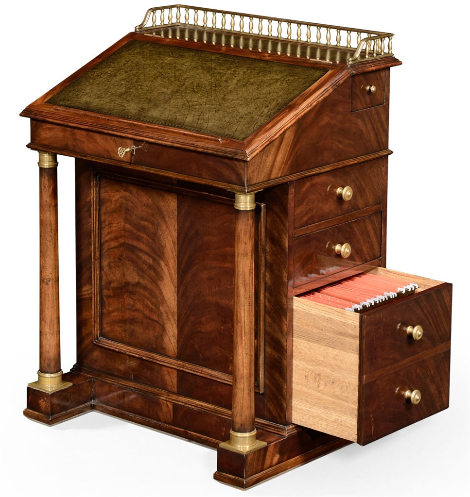 Executive Desks Classic Antique Reproduction Furniture. Davenport Cabinet