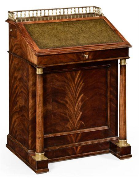 Executive Desks Classic antique reproduction furniture. davenport cabinet