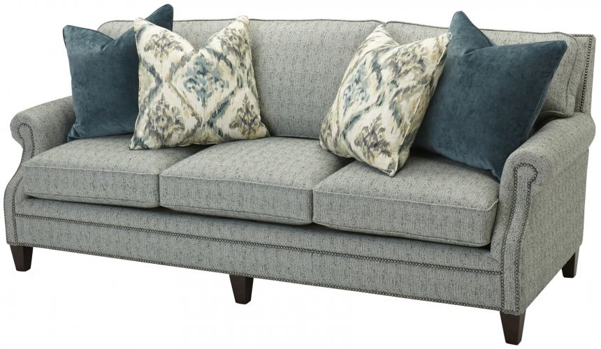 SOFA, COUCH & LOVESEAT Stylish Roll Arm Upholstered Sofa