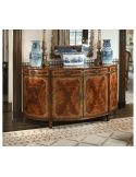 Demilune sideboard or buffet.