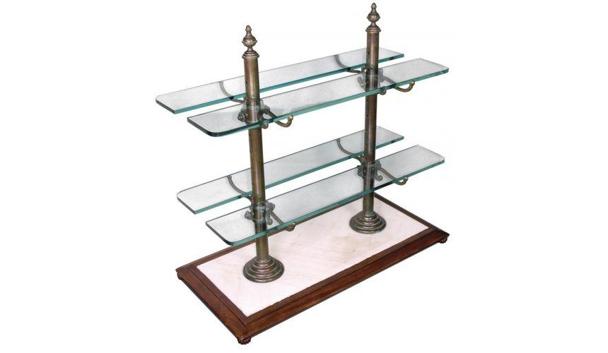 Decorative Accessories Elegant Desert Server with marble stand