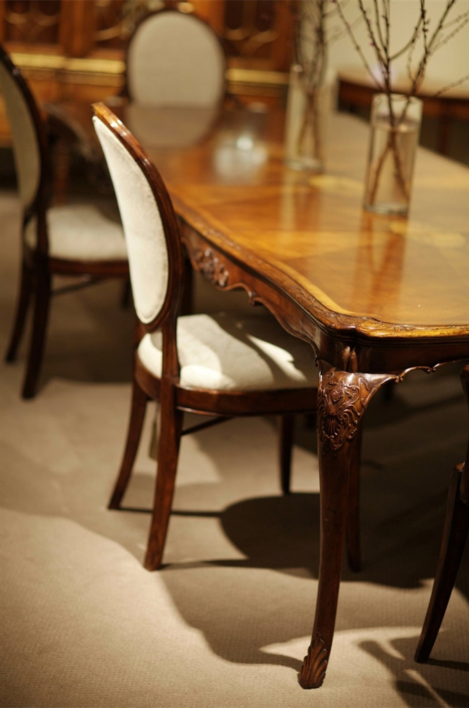 Dining Table Furniture High End Dining Rooms Carved