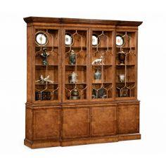 Display Breakfront Cabinet. Elegant Furnishings