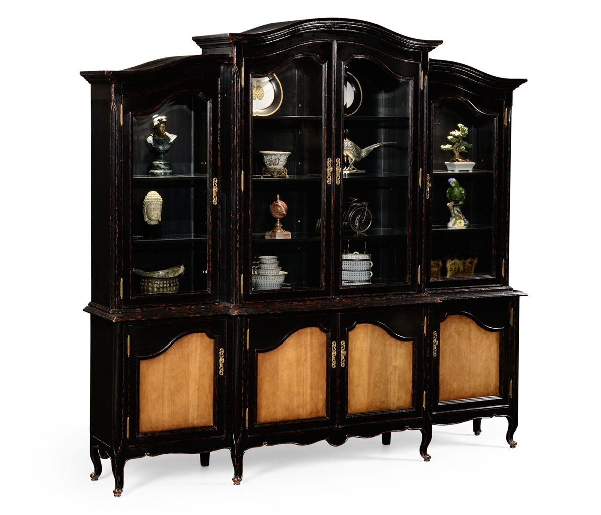 French country china cabinets - Breakfronts China Cabinets Display Cabinet French Country Furnishings