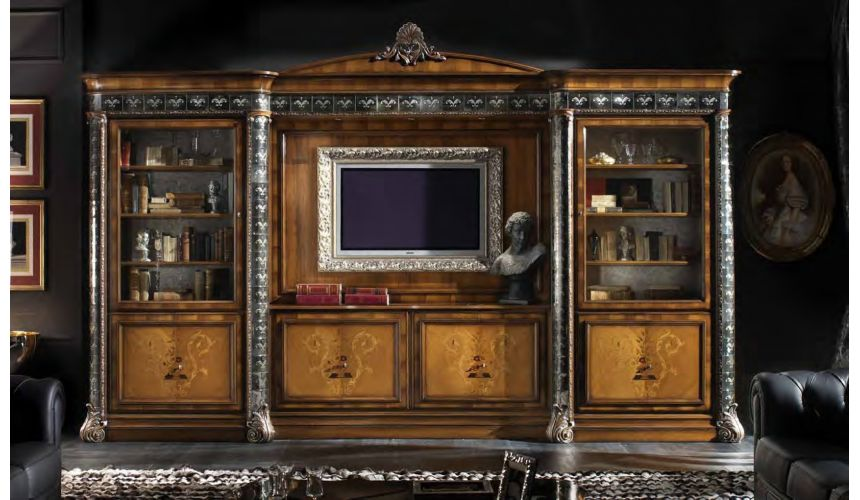 Breakfronts & China Cabinets High end china display cabinet Italian furniture