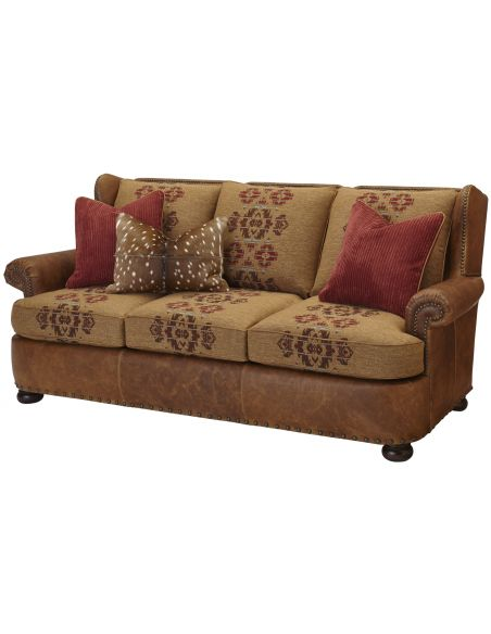 SOFA, COUCH & LOVESEAT Classy Upholstered Sofa