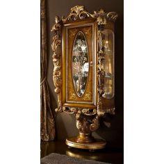 Elegant Glass Cabinet Round Base