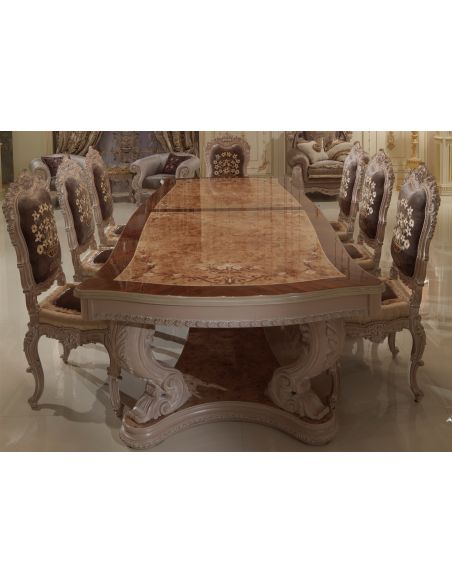 Dining Tables Luxury Dining Table. Marquetry Work