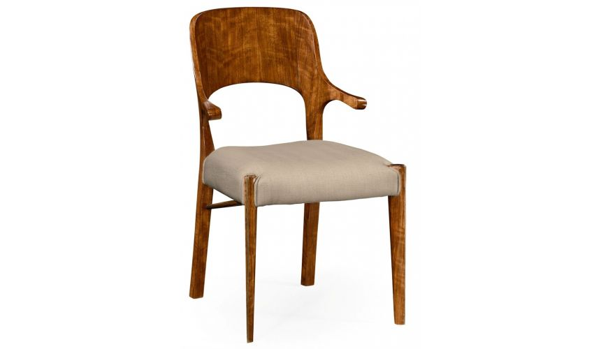 Dining Chairs Hyedua Short Arm Dining Chair