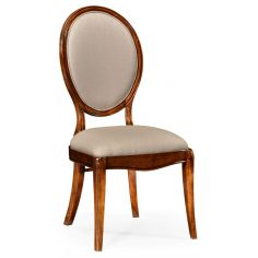 Classic Oval Back Side Dining Chair