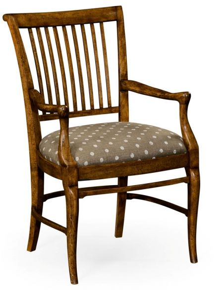 Dining Chairs Irish Grill Back Armchair