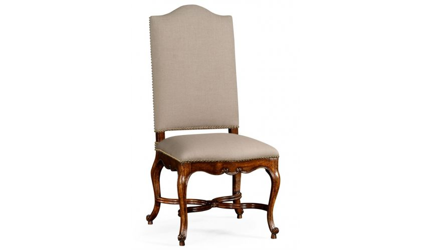 Dining Chairs French Baronial Side Dining Chair