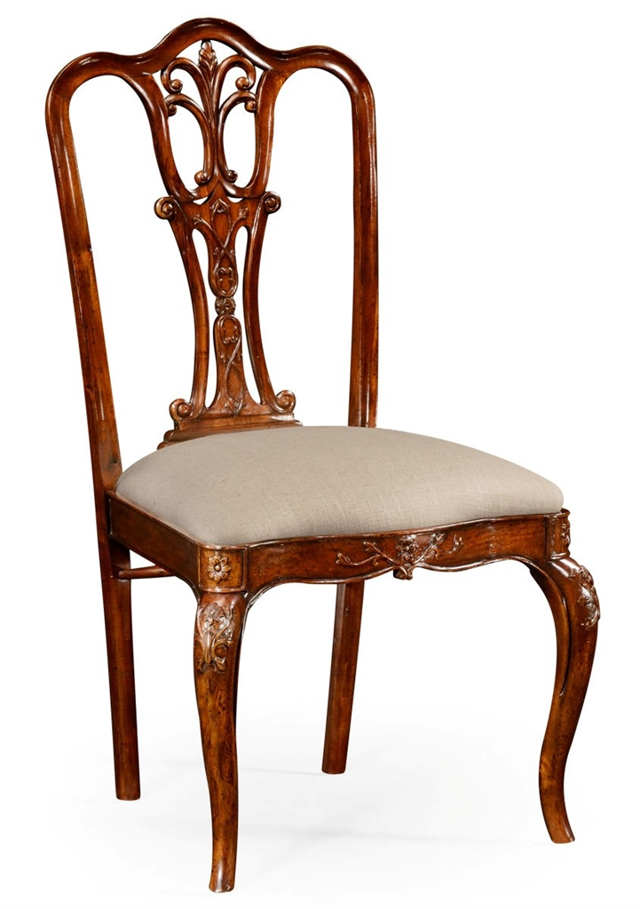 18th century mahogany side dining chair for Mahogany dining room furniture