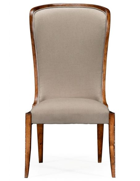 Dining Chairs High Wingback Upholstered Dining Side Chair