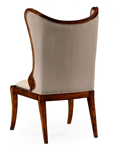 Dining Chairs Butterfly Style Wingback Upholstered Dining Side Chair