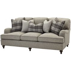 Upholstered Sofa in Gray