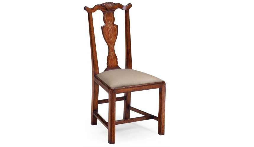 Dining Chairs Provincial Chippendale Style Side Dining Chair
