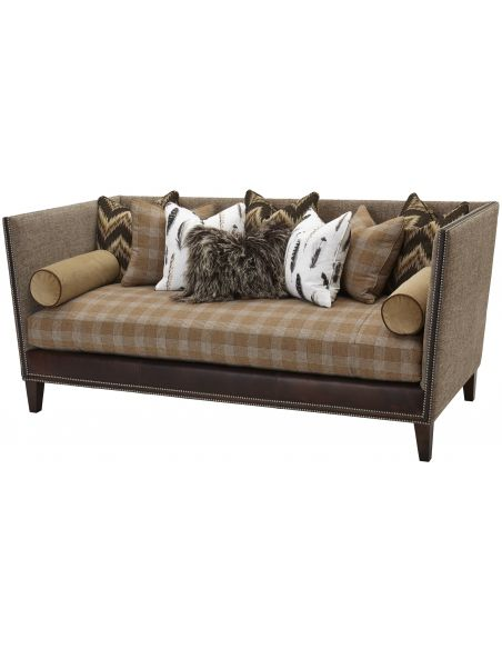 SOFA, COUCH & LOVESEAT Upholstered High Back Sofa