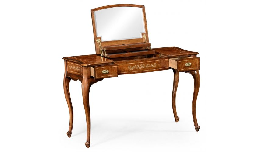Dressing table with mirror. Luxury furniture. 599328