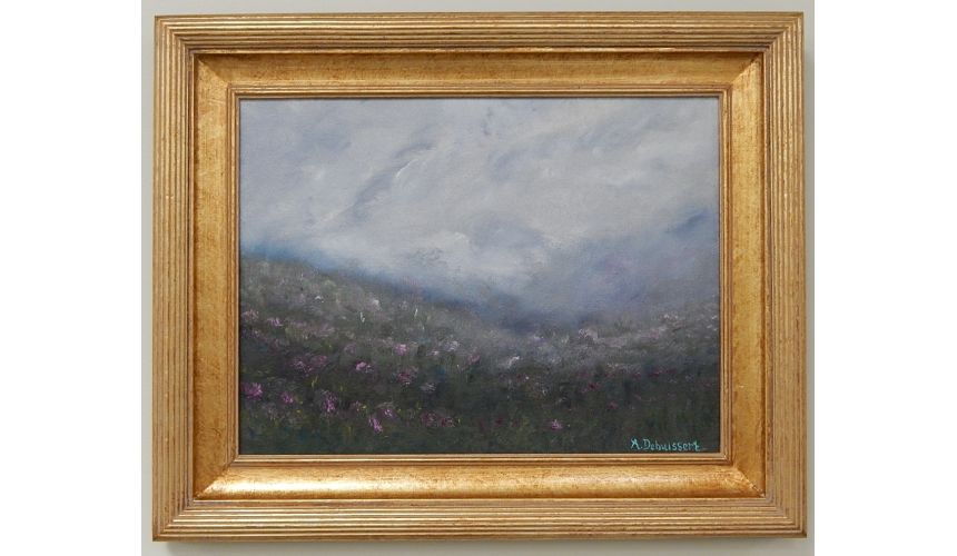 Original Oil Paintings By Artist: Anne-Marie Debuissert Original oil paintings. Dusky by Artist Anne-Marie Debuissert.
