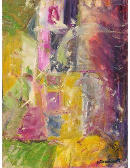 Original Oil Paintings By Artist: Anne-Marie Debuissert Economy 2008 original oil paintings. Artist Anne-Marie Debuissert