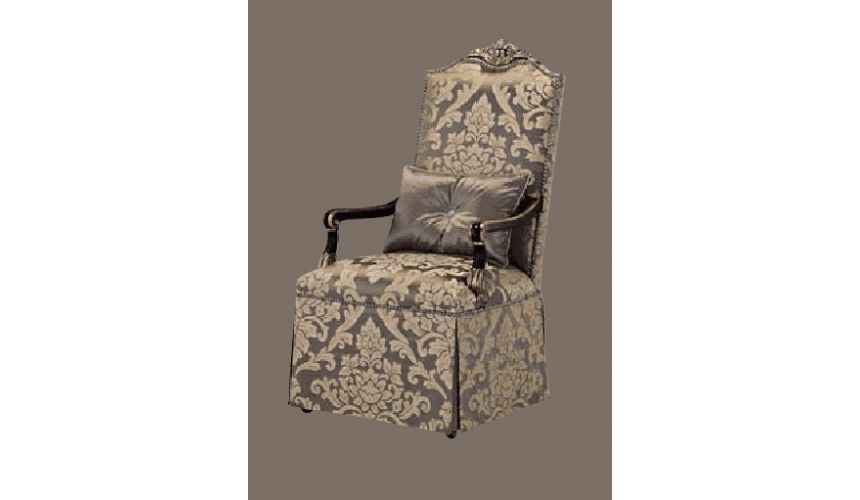 Dining Chairs High style dining furniture, elegant slipper chair 23