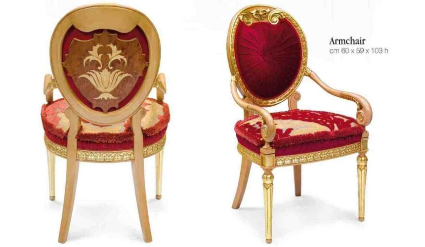 Dining Chairs 45 Empire style furniture. Dining chairs