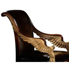 Empire style Furniture. High end dining chair, accent chair