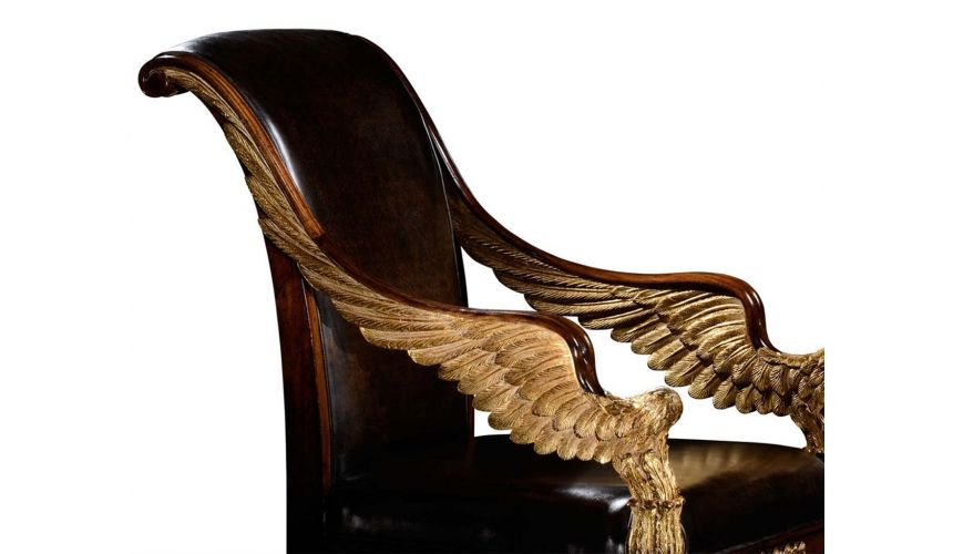 Dining Chairs Empire style Furniture. High end dining chair, accent chair